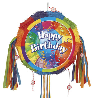 Piñata - Brilliant Birthday Party Jubilee (Pull String)