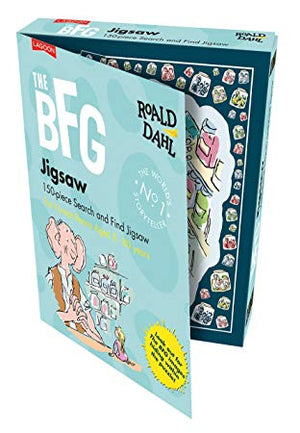 The BFG Search And Find Jigsaw Puzzle 150 pieces