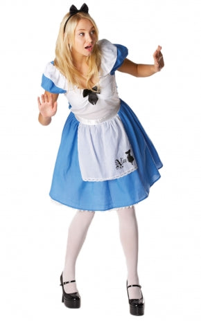 Alice In Wonderland - Alice Costume (Adult)