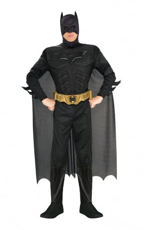 Deluxe Batman With Muscle Chest Costume - (Adult)