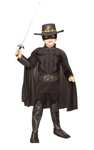Zorro Muscle Chest Costume