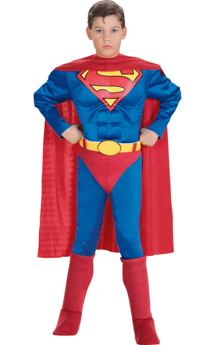 Superman Muscle Costume - (Child)