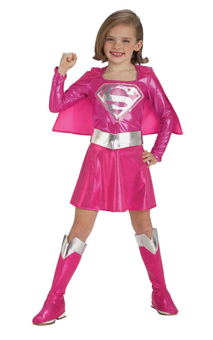 Supergirl, Pink Costume - (Child)