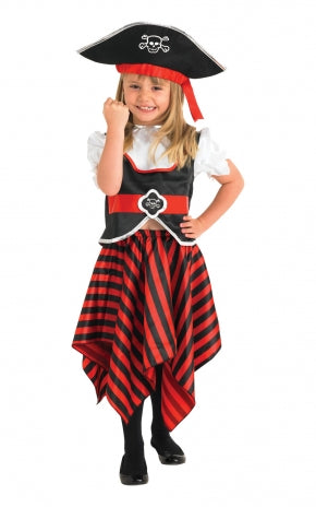 Pirate Girl Costume - (Child)