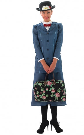 Mary Poppins Costume - (Adult)