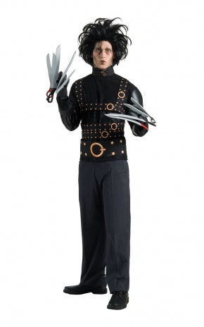 Edward Scissorhands Costume - (Adult)
