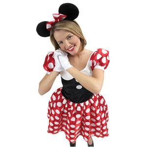 Minnie Mouse Costume - (Adult)