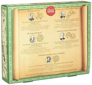 Great Minds Men's Set of 5 Puzzles