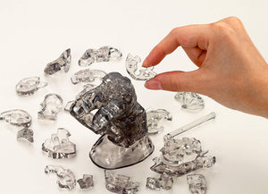 "3D Crystal Puzzle - ""The Thinker"""