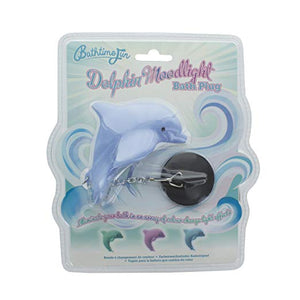Dolphin Moodlight Bath Plug