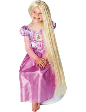 Rapunzel Long Glow-in-the-Dark Wig - (Child)