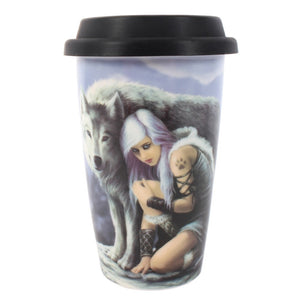 Anne Stokes 'Protector' Travel Mug