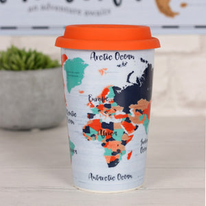 Adventure Awaits Travel Mug