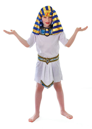 Egyptian Pharaoh Tunic - White