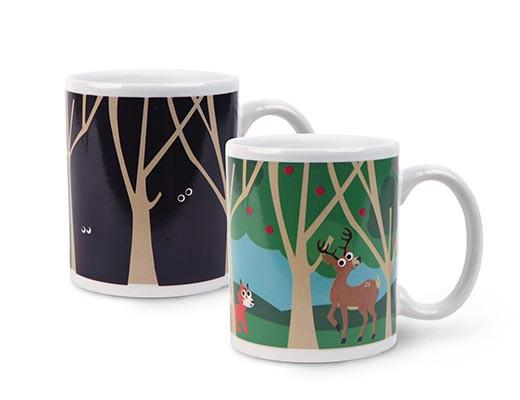Heat Changing Morph Mug - Woodlands