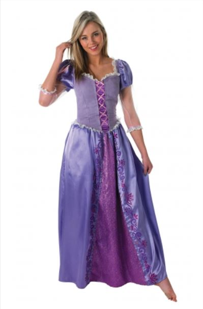 Rapunzel, Disney Princess Costume - (Adult)