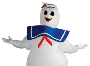 Inflatable Stay Puft - Ghostbusters Costume - (Adult)