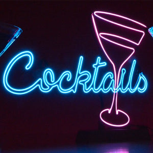 Cocktail Neon Effect Light