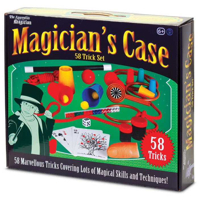 Magicians Case 58 Trick Set