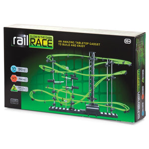 Glow In The Dark Rail Race - 10m
