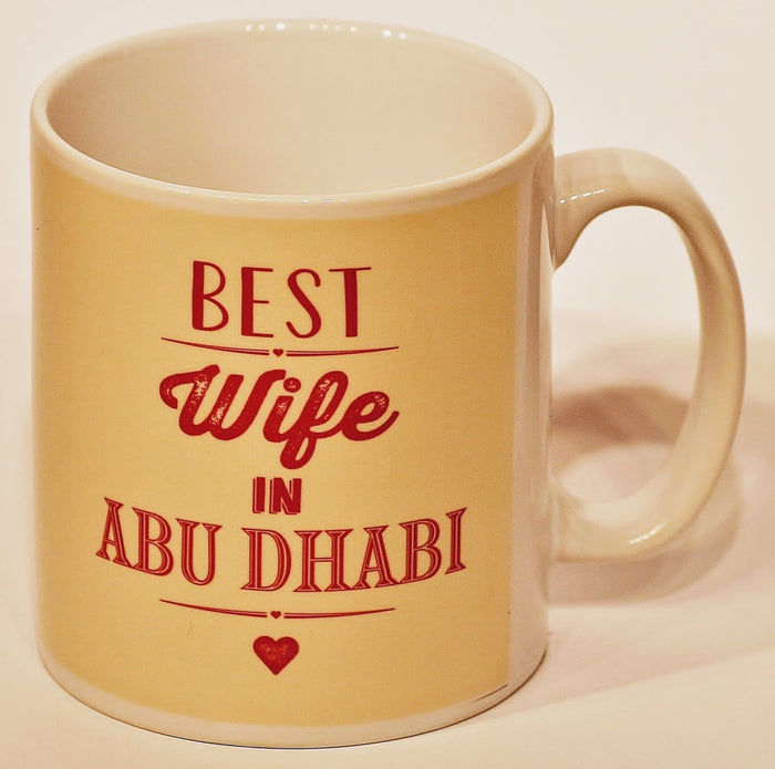 Best Wife In Abu Dhabi Mug
