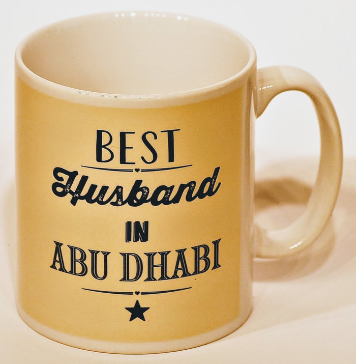 Best Husband In Abu Dhabi Mug