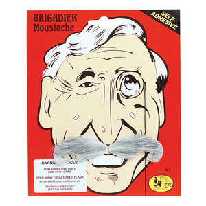 Brigadier Moustache - Grey