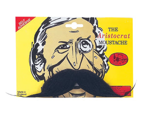 Aristocrat Moustache - Black