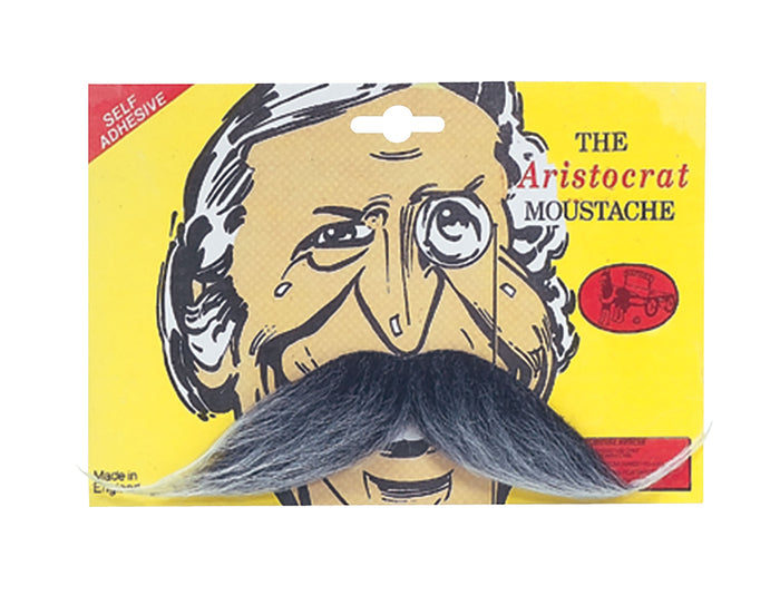 Aristocrat Moustache - Grey