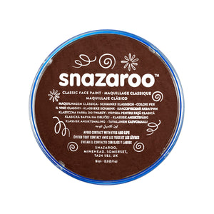 Snazaroo Face Paint 18ml - Dark Brown