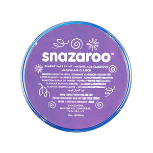 Snazaroo Face Paint 18ml - Lilac