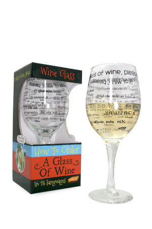 Wine Glass: How To Order Glass Of Wine In 25 languages