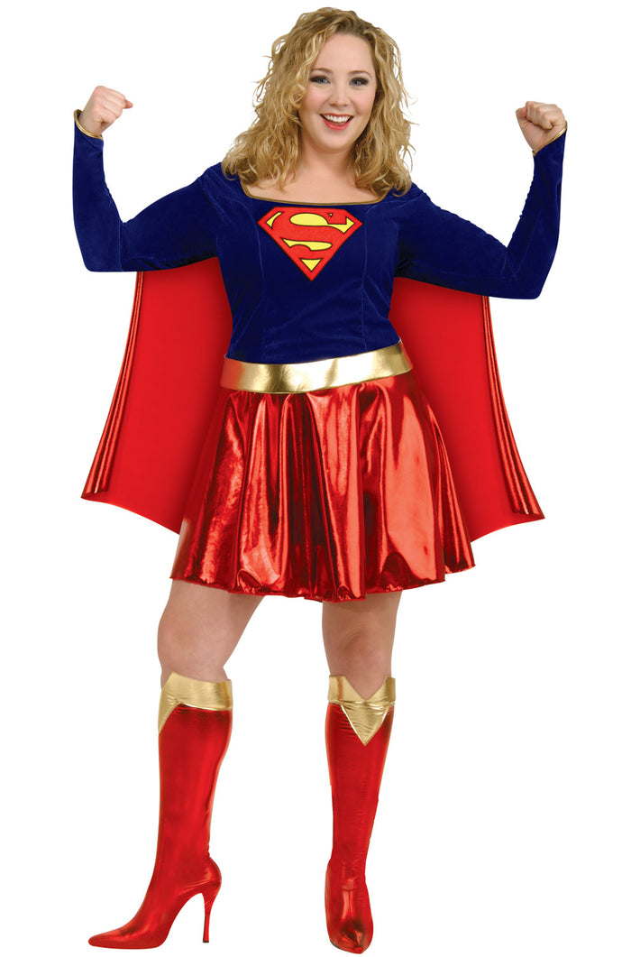 Supergirl Plus Size Costume - (Adult)