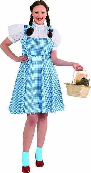 Wizard Of Oz - Dorothy Plus Size Costume (Adult)