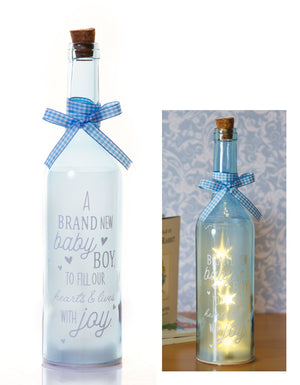 Starlight Bottle: Brand New Baby Boy