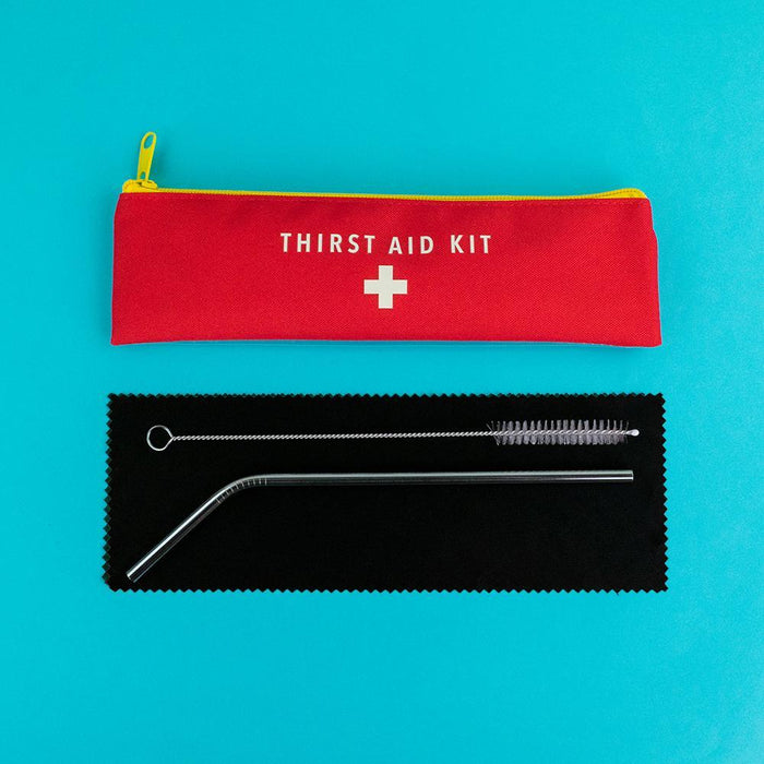Thirst Aid Kit - Reusable Straw Set