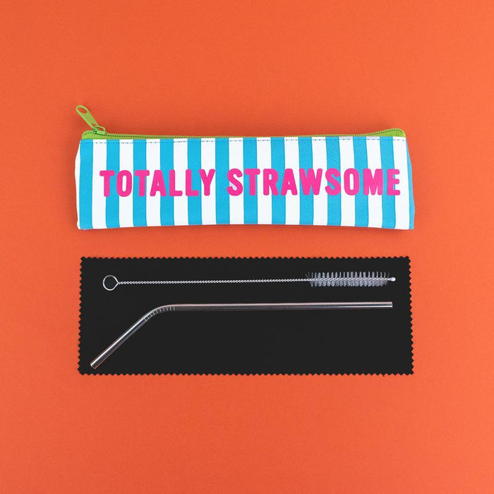Totally Strawsome - Reusable Straw Set
