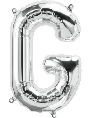 "34"" Letter Silver Balloons - G"