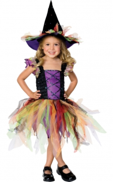 Halloween - Glitter Witch Costume