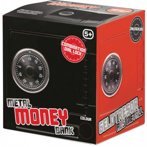 Metal Money Bank - Red