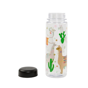 Lima Llama Clear Reusable Water Bottle