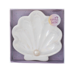 Mermaid Treasures Shell Trinket Dish