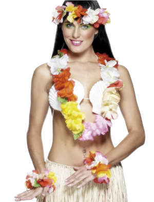 Hawaiian Deluxe Set - Multi-Coloured