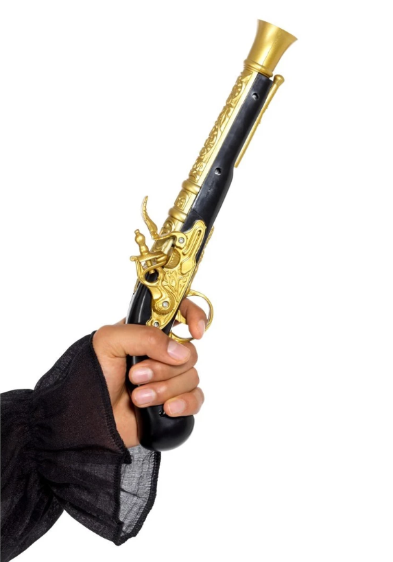 Realistic Pirate Blunderbuss Pistol
