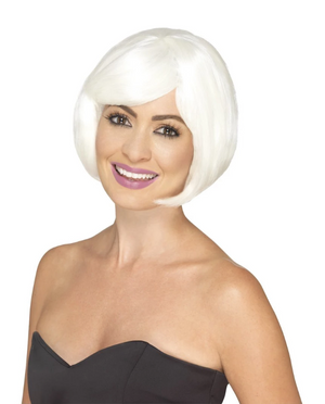 Bob Party Wig - Glow in Dark