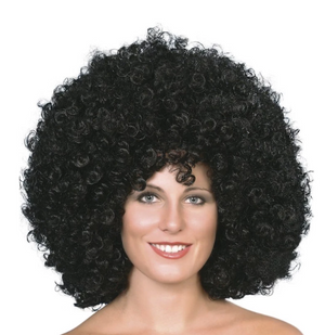Mega Huge Afro Wig - Black