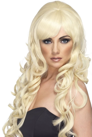 Pop Starlet Wig - Blonde