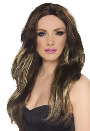Temptress Wig - Brown And Blonde