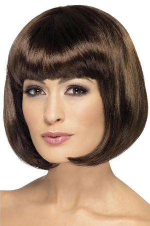 Partyrama Wig - Dark Brown