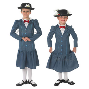 Mary Poppins Costume - (Child)